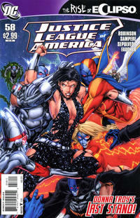 Cover Thumbnail for Justice League of America (DC, 2006 series) #58