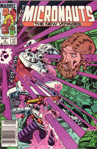 Cover Thumbnail for Micronauts (Marvel, 1984 series) #4 [Newsstand]