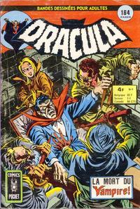Cover Thumbnail for Dracula (Arédit-Artima, 1974 series) #9