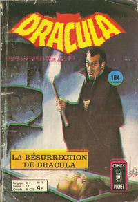 Cover Thumbnail for Dracula (Arédit-Artima, 1974 series) #10