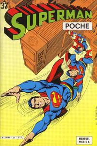 Cover Thumbnail for Superman Poche (Sage - Sagédition, 1976 series) #37