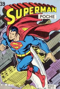 Cover Thumbnail for Superman Poche (Sage - Sagédition, 1976 series) #39