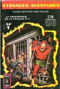 Cover Thumbnail for Etranges Aventures (Arédit-Artima, 1966 series) #1