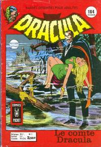 Cover Thumbnail for Dracula (Arédit-Artima, 1974 series) #1