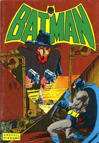 Cover for Batman Bimestriel (Sage - Sagédition, 1975 series) #4