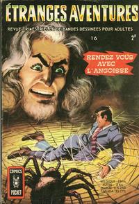 Cover Thumbnail for Etranges Aventures (Arédit-Artima, 1966 series) #16
