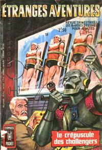 Cover Thumbnail for Etranges Aventures (Arédit-Artima, 1966 series) #18