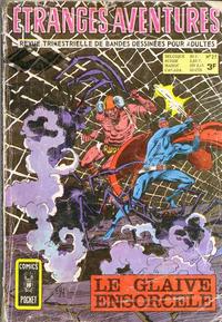 Cover Thumbnail for Etranges Aventures (Arédit-Artima, 1966 series) #27