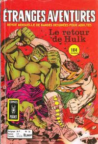 Cover Thumbnail for Etranges Aventures (Arédit-Artima, 1966 series) #36