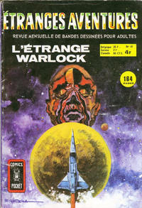 Cover Thumbnail for Etranges Aventures (Arédit-Artima, 1966 series) #40