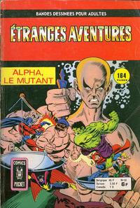Cover Thumbnail for Etranges Aventures (Arédit-Artima, 1966 series) #53