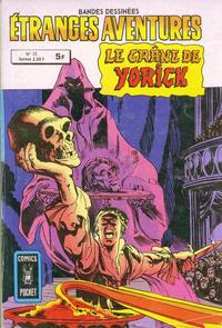 Cover Thumbnail for Etranges Aventures (Arédit-Artima, 1966 series) #72