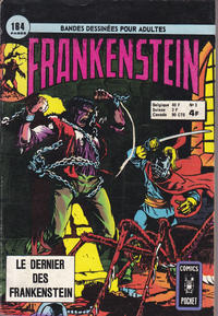 Cover Thumbnail for Frankenstein (Arédit-Artima, 1975 series) #3