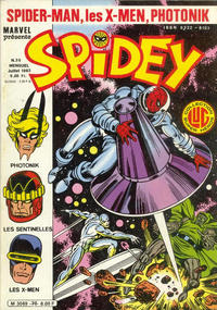 Cover Thumbnail for Spidey (Editions Lug, 1979 series) #30