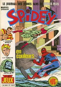 Cover Thumbnail for Spidey (Editions Lug, 1979 series) #10