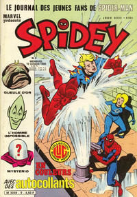Cover Thumbnail for Spidey (Editions Lug, 1979 series) #9