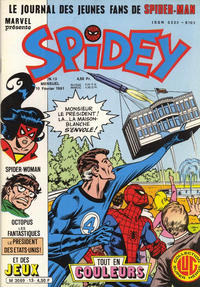 Cover Thumbnail for Spidey (Editions Lug, 1979 series) #13