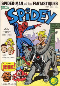 Cover Thumbnail for Spidey (Editions Lug, 1979 series) #14