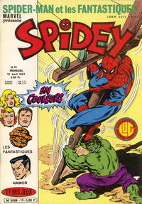 Cover Thumbnail for Spidey (Editions Lug, 1979 series) #15