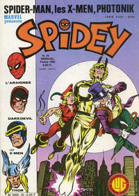 Cover Thumbnail for Spidey (Editions Lug, 1979 series) #25