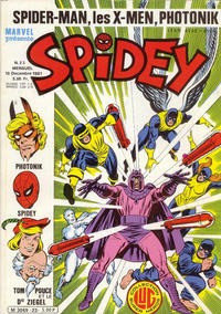 Cover Thumbnail for Spidey (Editions Lug, 1979 series) #23