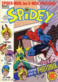 Cover Thumbnail for Spidey (Editions Lug, 1979 series) #22