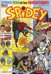 Cover Thumbnail for Spidey (Editions Lug, 1979 series) #17