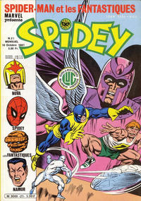 Cover Thumbnail for Spidey (Editions Lug, 1979 series) #21