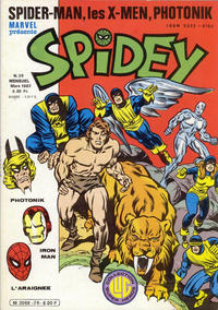 Cover Thumbnail for Spidey (Editions Lug, 1979 series) #26