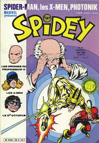 Cover Thumbnail for Spidey (Editions Lug, 1979 series) #28