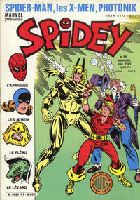 Cover Thumbnail for Spidey (Editions Lug, 1979 series) #29