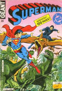 Cover Thumbnail for Superman Géant (Sage - Sagédition, 1979 series) #16