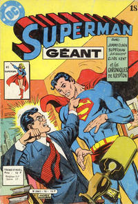Cover Thumbnail for Superman Géant (Sage - Sagédition, 1979 series) #18