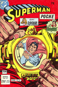 Cover Thumbnail for Superman Poche (Sage - Sagédition, 1976 series) #78