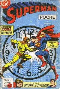 Cover Thumbnail for Superman Poche (Sage - Sagédition, 1976 series) #62-63