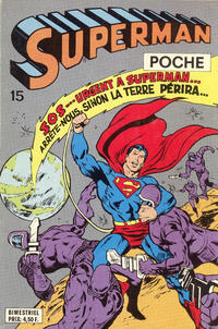 Cover Thumbnail for Superman Poche (Sage - Sagédition, 1976 series) #15