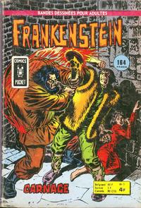 Cover Thumbnail for Frankenstein (Arédit-Artima, 1975 series) #5