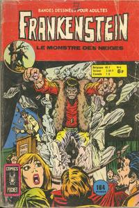 Cover Thumbnail for Frankenstein (Arédit-Artima, 1975 series) #6