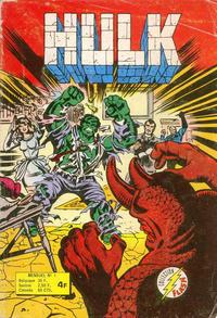 Cover Thumbnail for Hulk (Arédit-Artima, 1976 series) #1