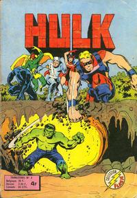 Cover Thumbnail for Hulk (Arédit-Artima, 1976 series) #3