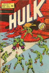 Cover Thumbnail for Hulk (Arédit-Artima, 1976 series) #6