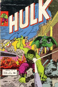 Cover Thumbnail for Hulk (Arédit-Artima, 1976 series) #11