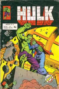 Cover Thumbnail for Hulk (Arédit-Artima, 1976 series) #10