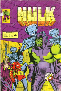 Cover Thumbnail for Hulk (Arédit-Artima, 1976 series) #13