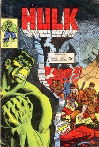 Cover Thumbnail for Hulk (Arédit-Artima, 1976 series) #15