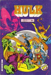 Cover Thumbnail for Hulk (Arédit-Artima, 1976 series) #19