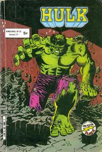 Cover Thumbnail for Hulk (Arédit-Artima, 1976 series) #20