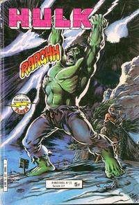 Cover Thumbnail for Hulk (Arédit-Artima, 1976 series) #22