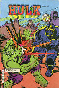 Cover for Hulk (Arédit-Artima, 1976 series) #23