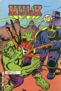 Cover Thumbnail for Hulk (Arédit-Artima, 1976 series) #23